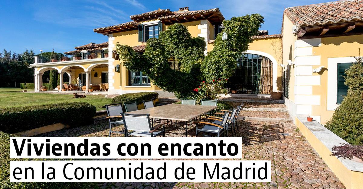Viviendas con encanto en la Comunidad de Madrid