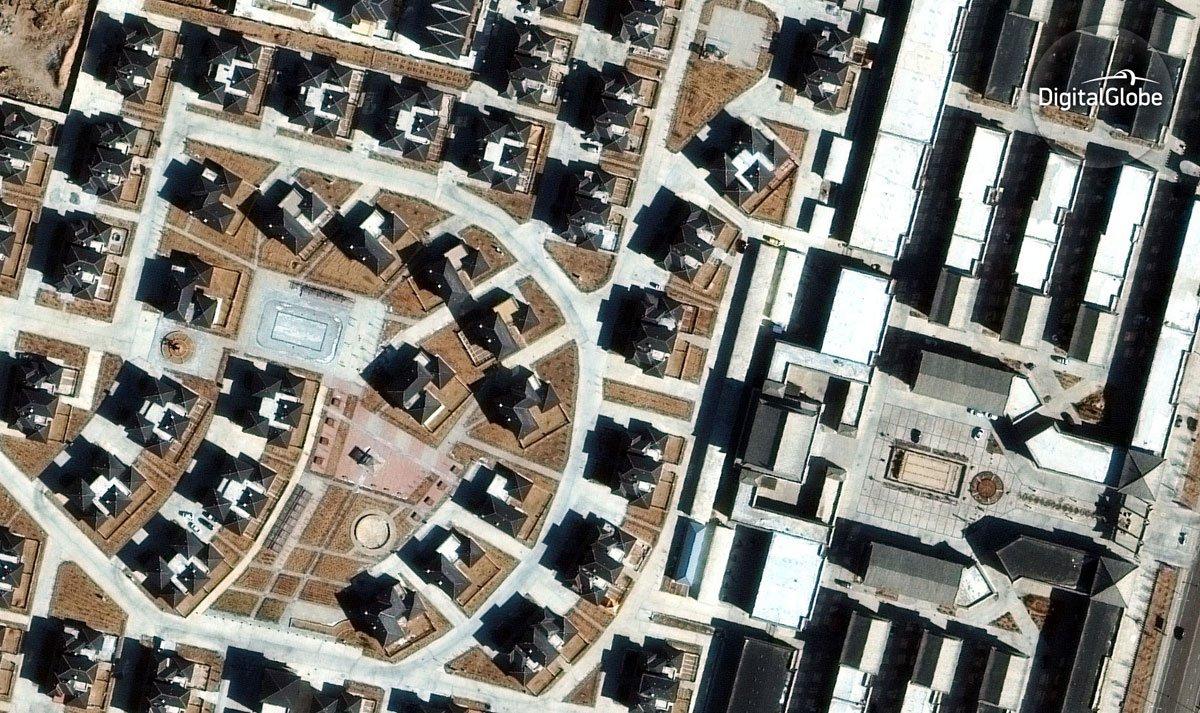 Ciudad de Erenhot (China) / DigitalGlobe