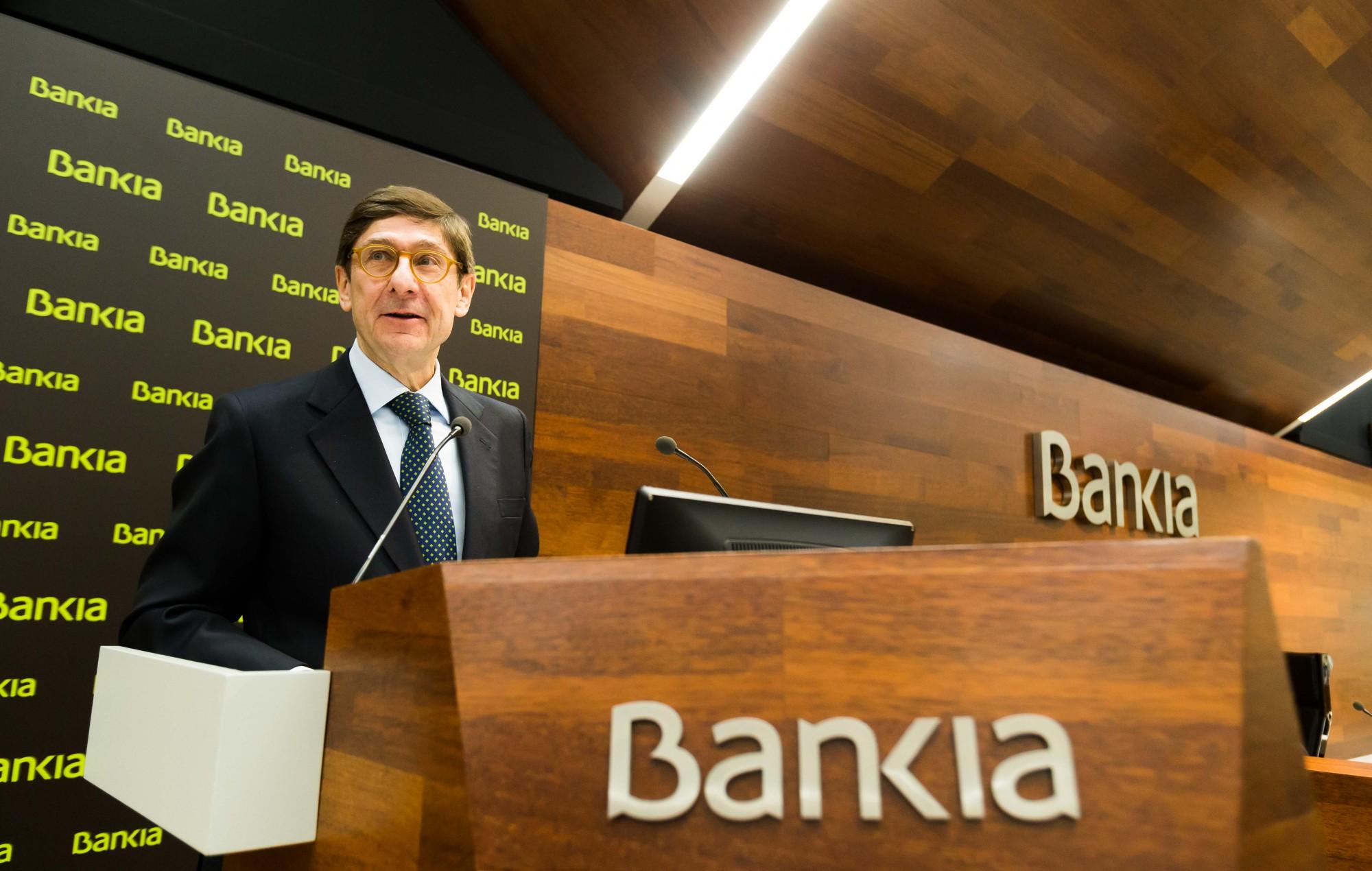 José Ignacio Goirigolzarri, presidente de Bankia / Bankia