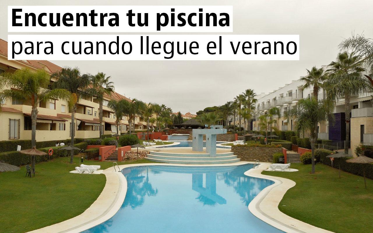 Pisos con piscina en alquiler