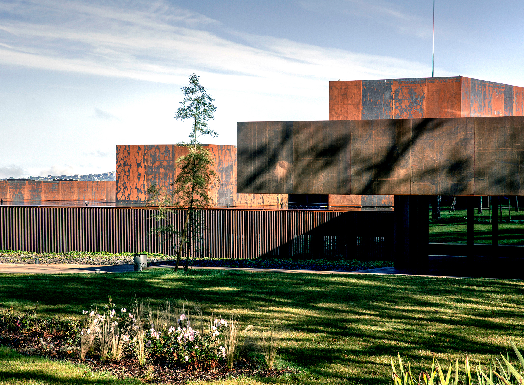 Museo Soulages (Rodez, Francia)
