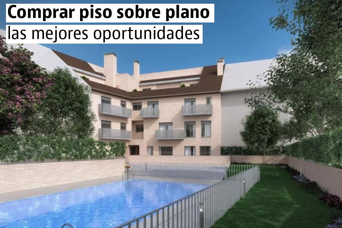¿Comprar vivienda sobre plano?