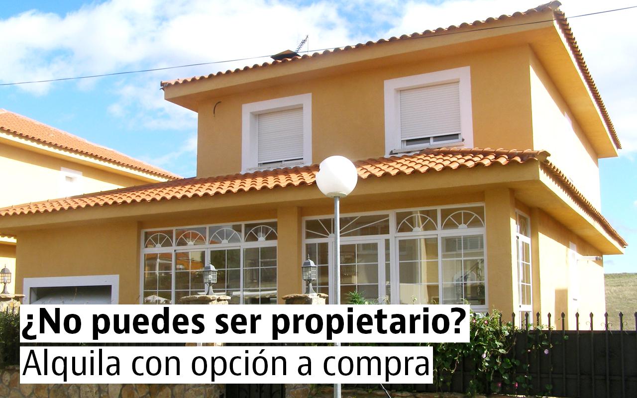 Viviendas en alquiler con opción a compra en toda España