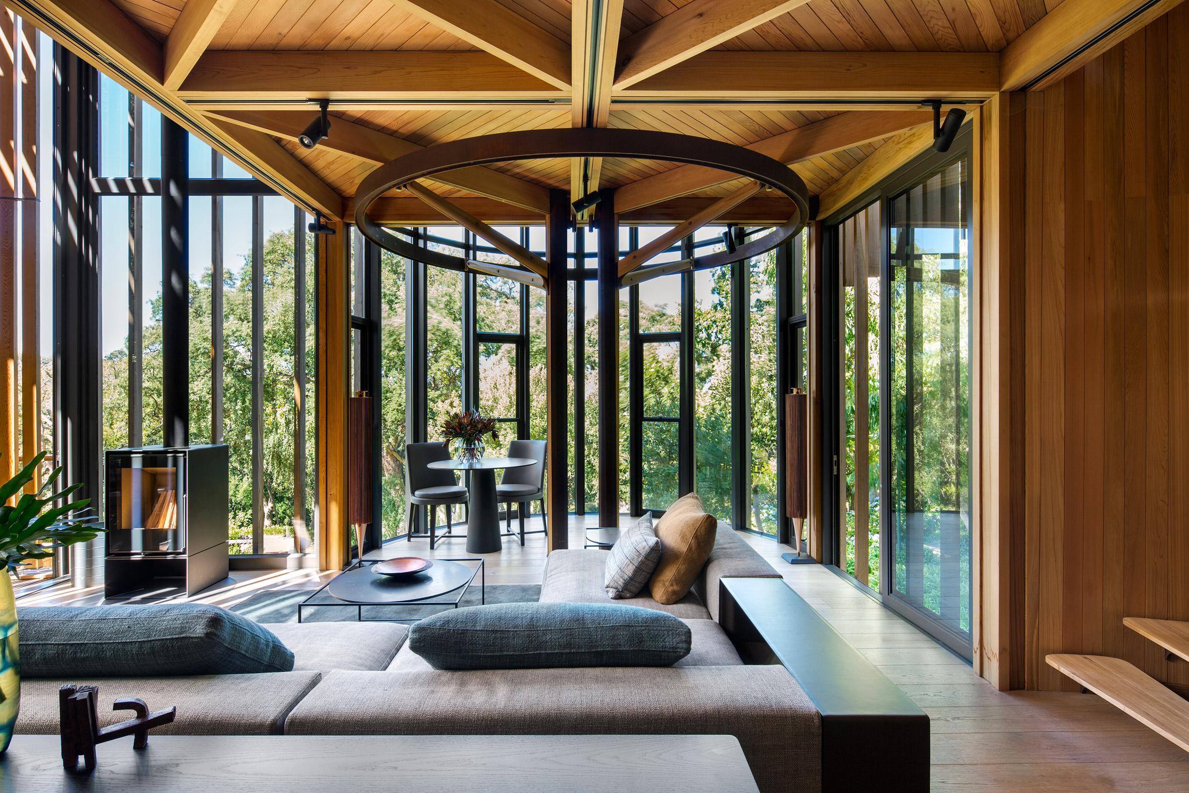 Casas de ensue o una incre ble villa con forma de rbol - Casas de ensueno interiores ...