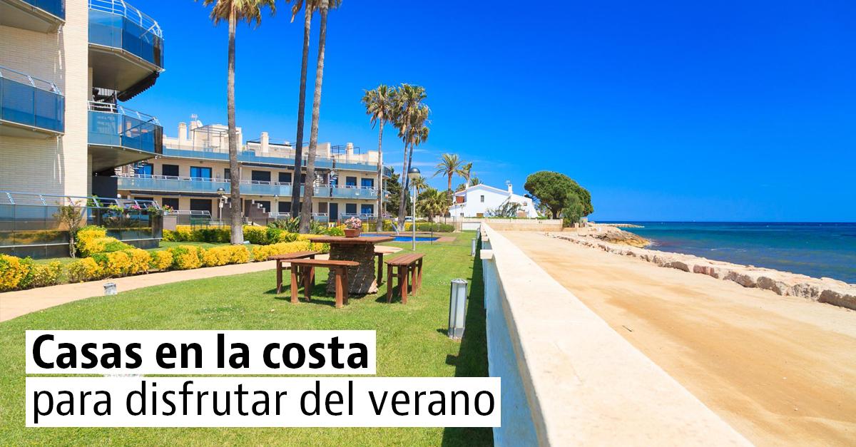 Casas en primera línea de playa