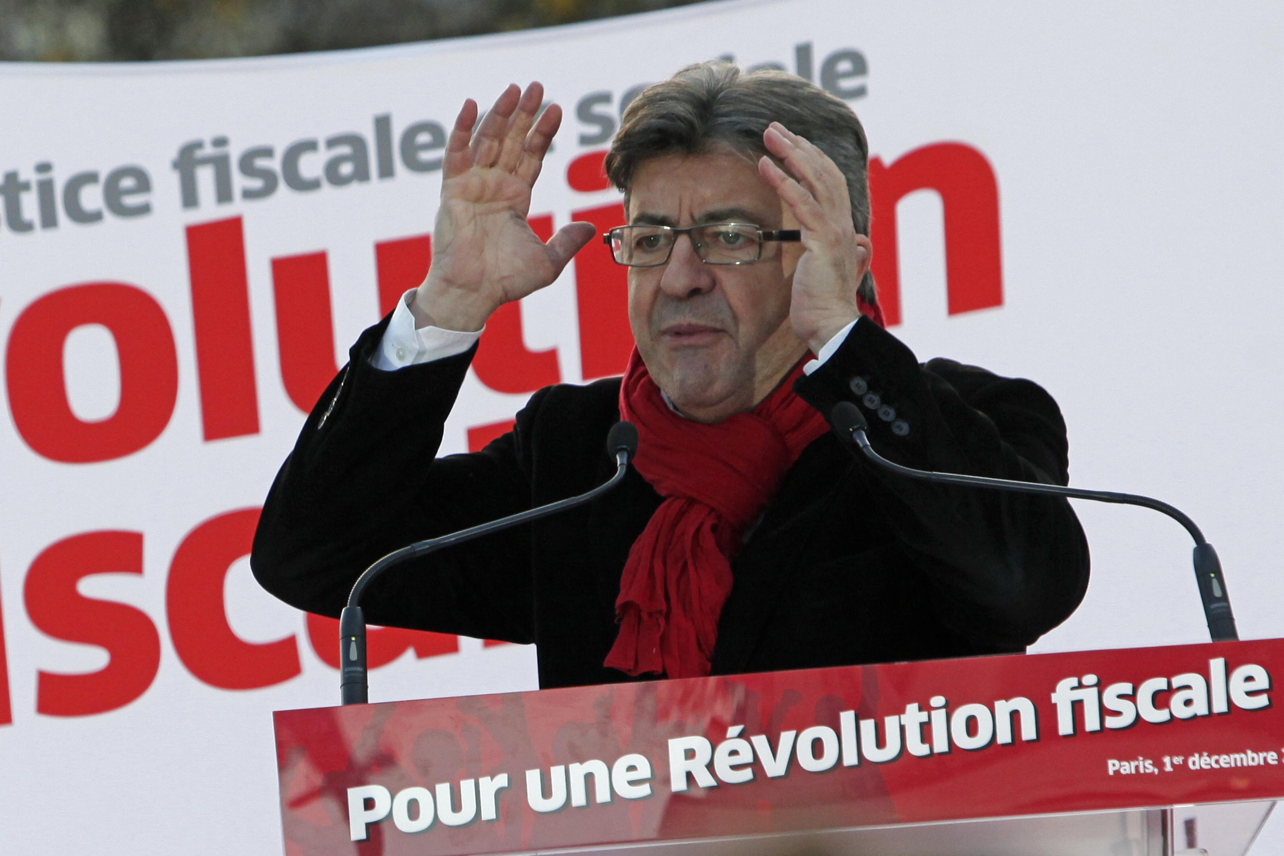 Jean-Luc Mélenchon, candidato a la presidencia de Francia / Gtres