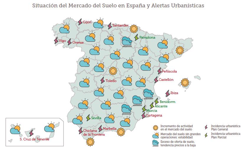 Imagen del d a el mapa del tiempo urban stico en espa a for El tiempo en st hilari sacalm