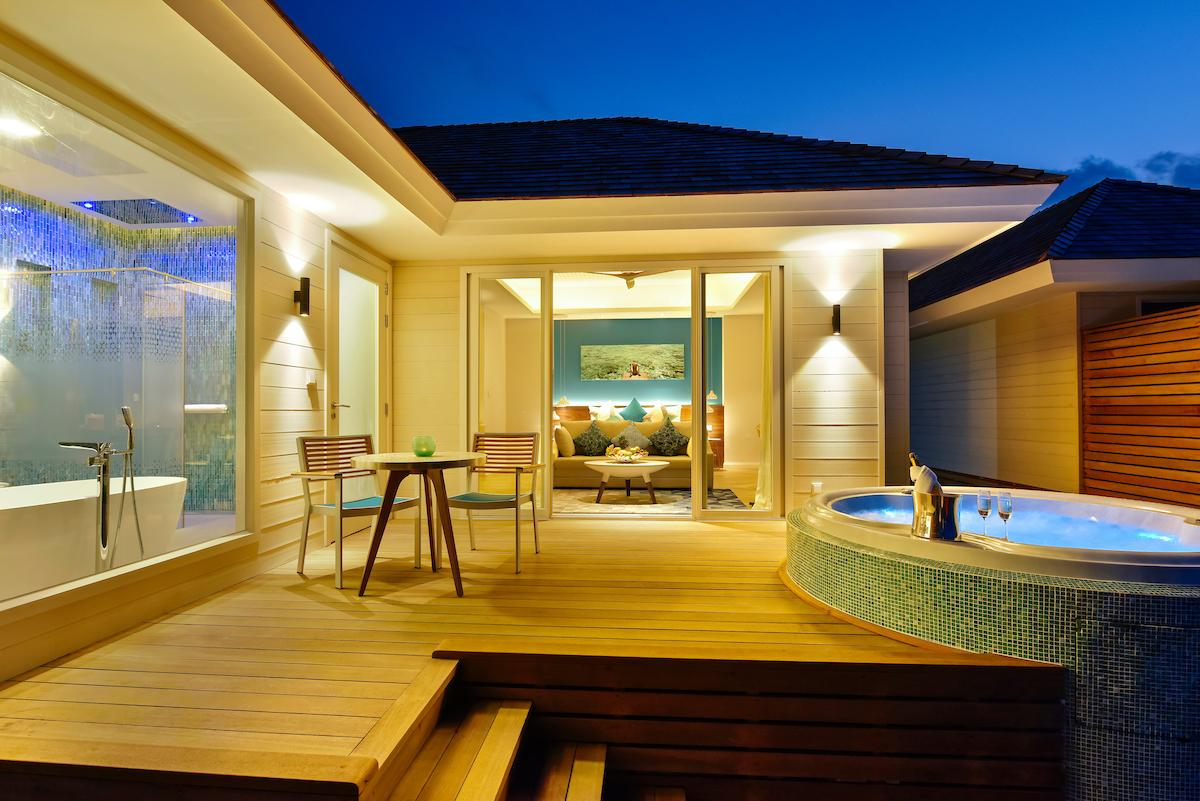 Hoteles con encanto el para so existe y est en las for Hoteles super lujo maldivas