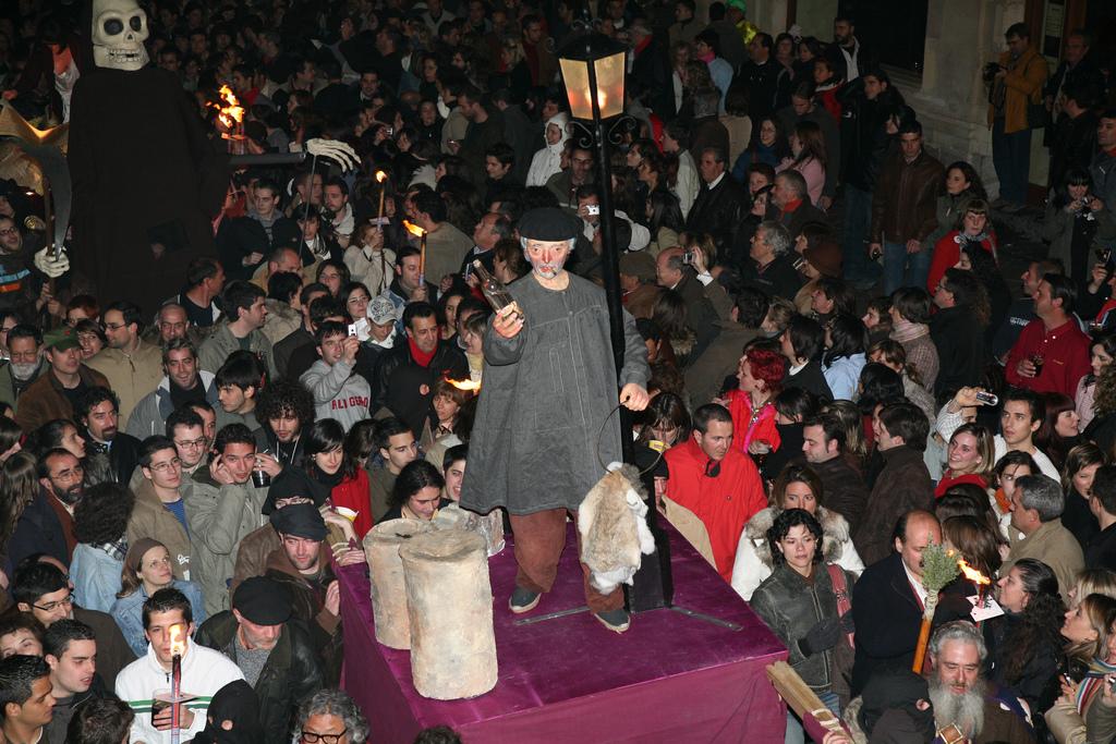 Procesión de Genarín en León