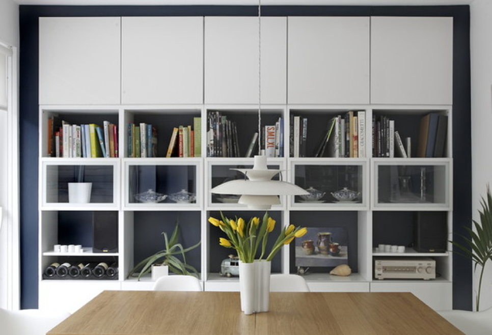 Cambia el aparador por un mueble con más almacenaje