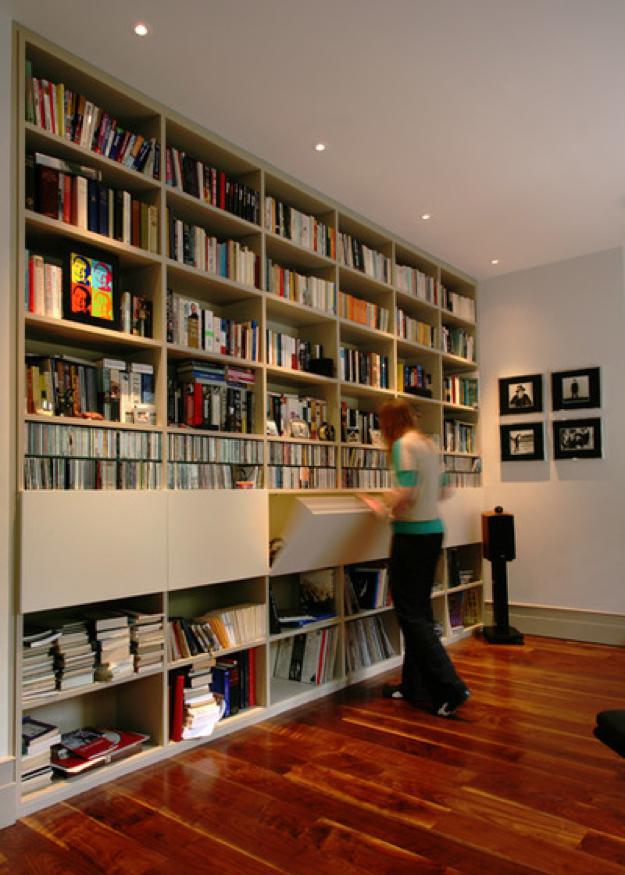 Librería de suelo a techo