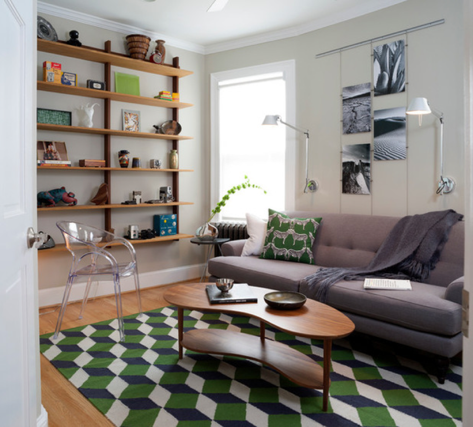Pisa alfombras 'geométricas'