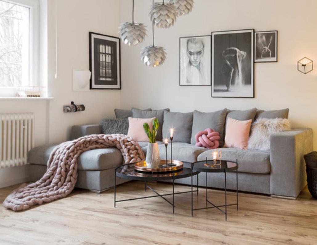 Decoracion d salones decoracin de salones en valencia for Cortinas marroquies