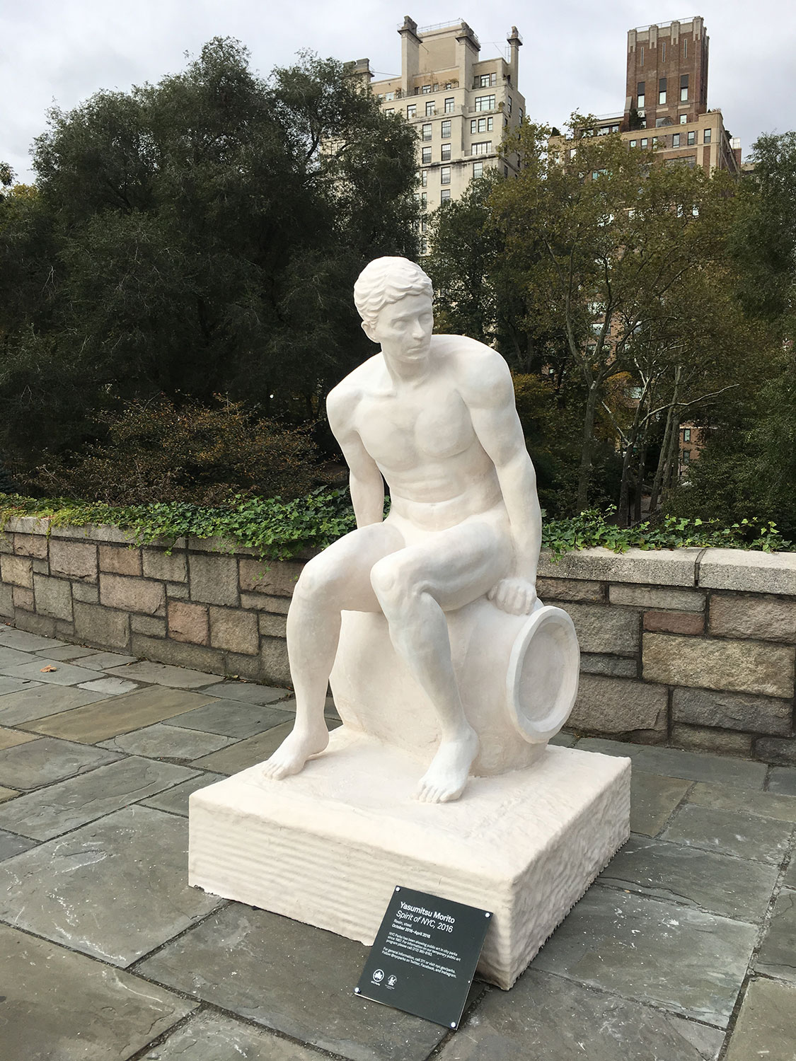 Spirit of New York City, Yasumitsu Morito en Carl Schurz Park
