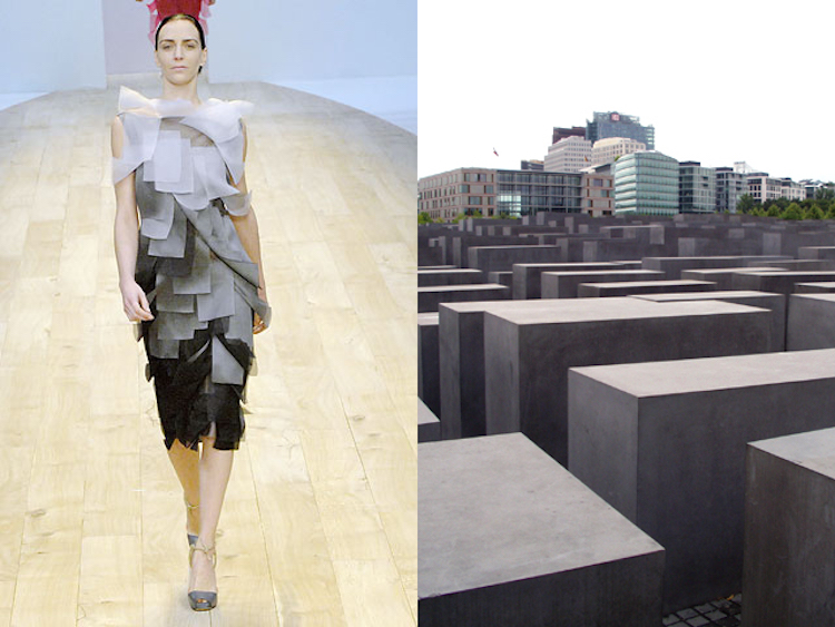 Akris, Spring 2008 | Peter Eisenman Monumento al Holocausto en Berlin
