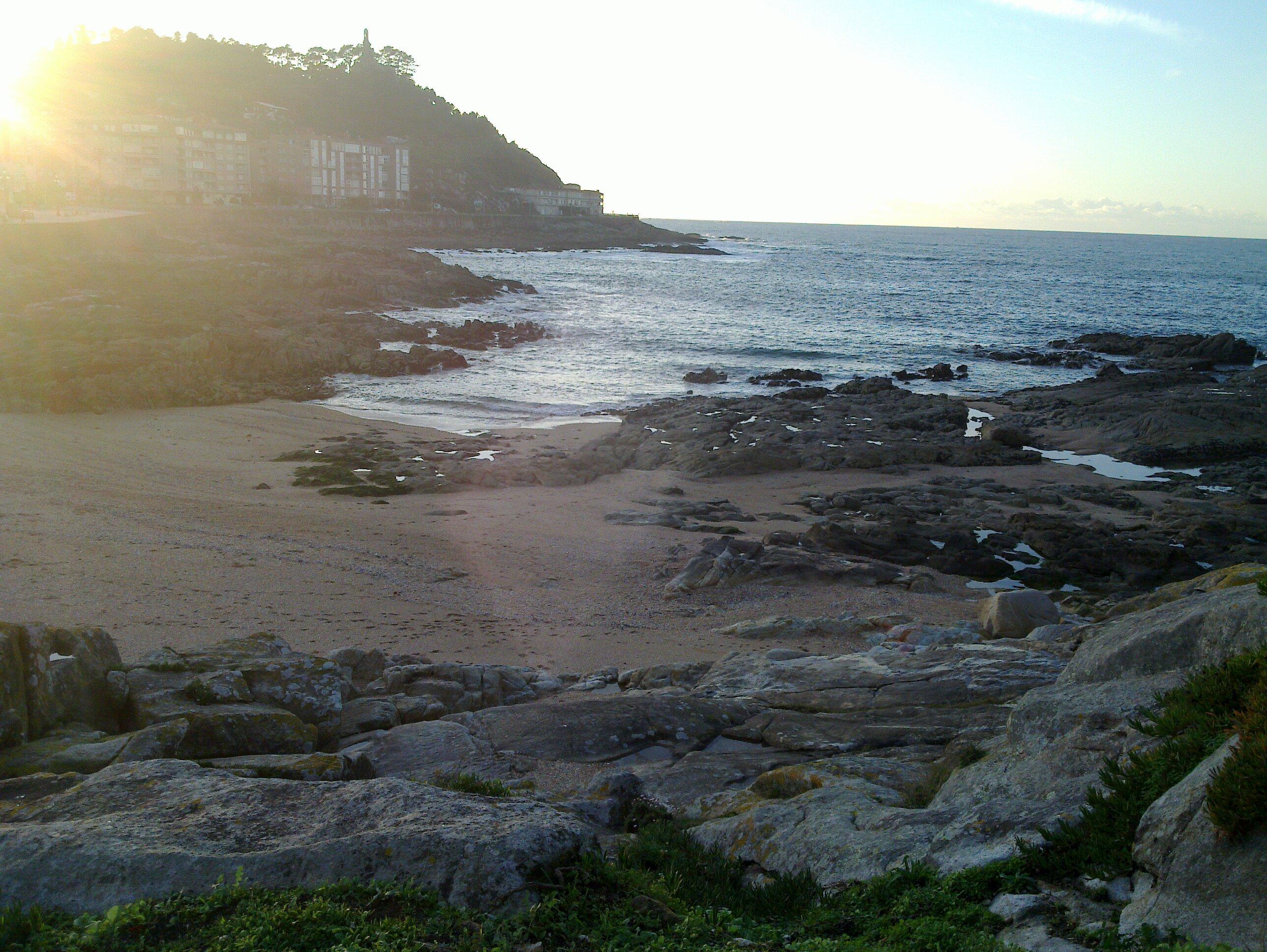Playa Concheira en Pontevedra