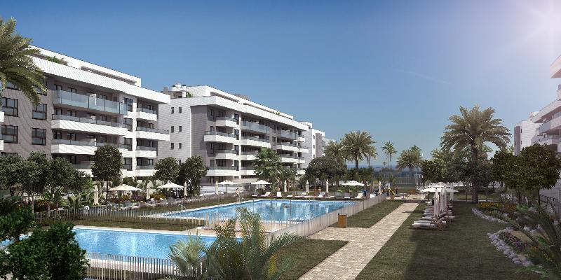Residencial La Cizaña, en Torremolinos (Málaga). / Altamira Asset Management