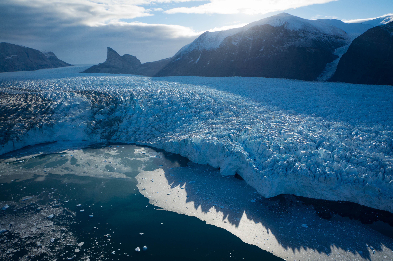 Glaciar Kangerlugssuup Sermerssua, Groenlandia