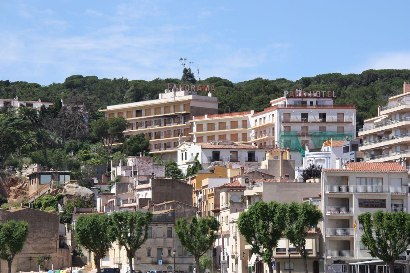 Aspecto actual del hotel Panorama, una de las propiedades de los hermanos Anlló. / Generalitat de Catalunya