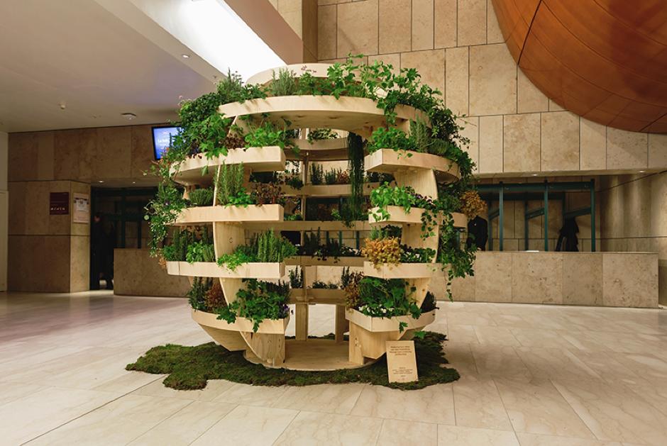 El huerto esférico de Ikea