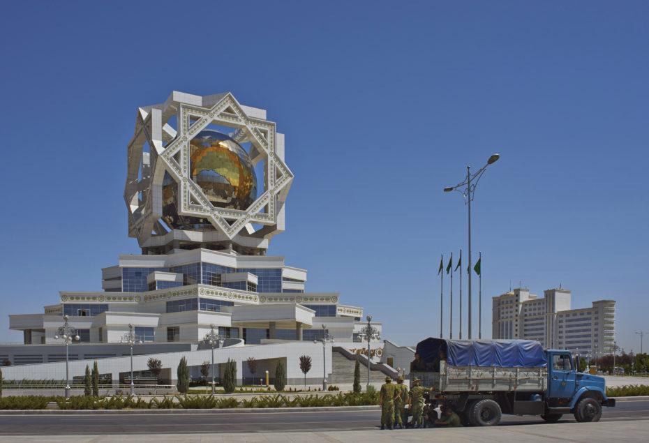 El Palacio de la Alegría en Asjabad, Turkmenistán