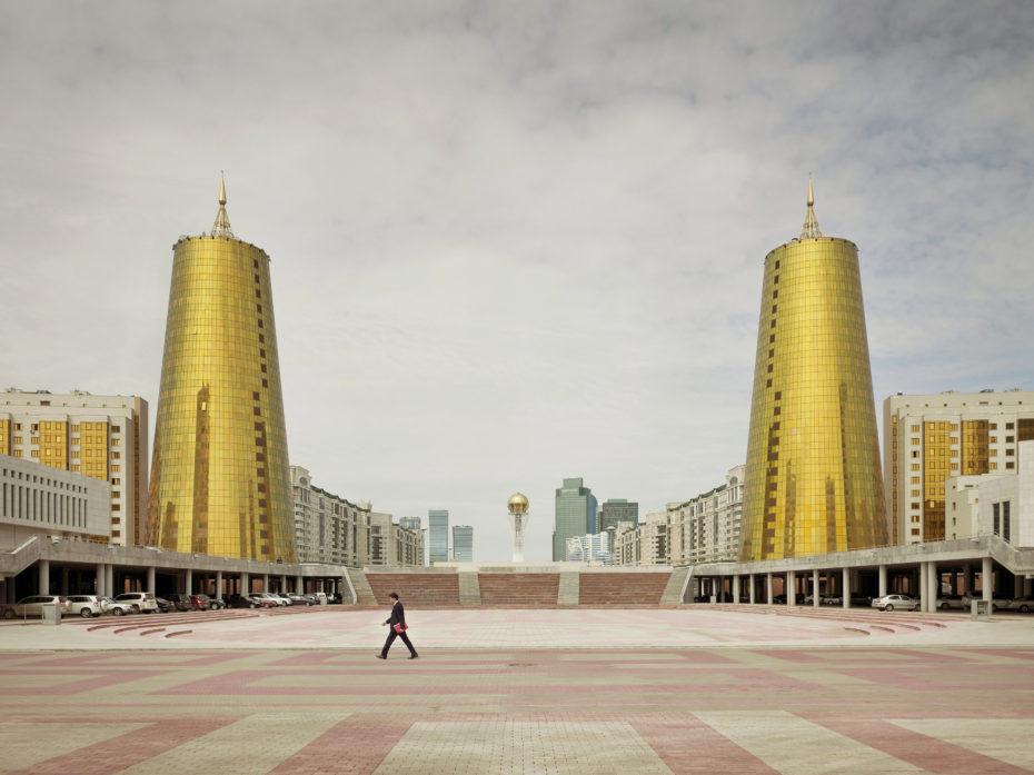 Los 'Nuevos Ministerios' de Astana, Kazajistán