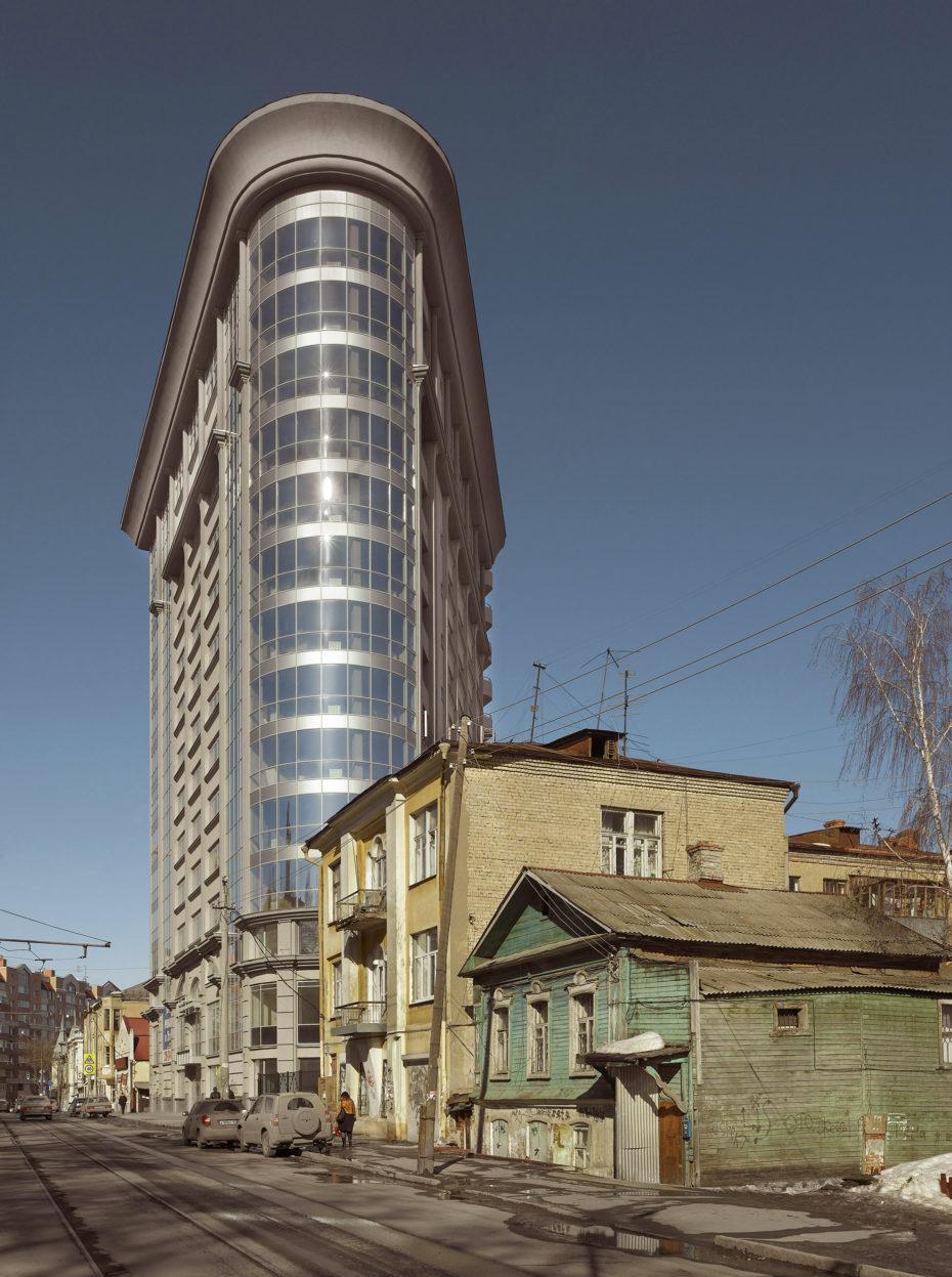 Bloque de viviendas en Samara, Rusia