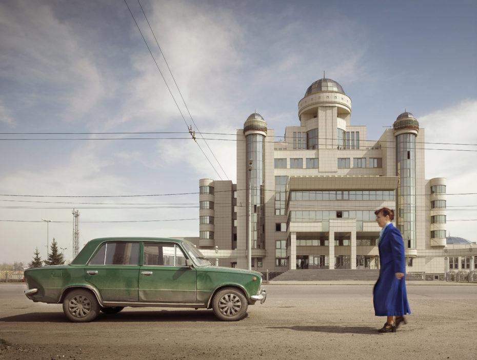 Edificio de la policía en Kazan, Tartaristán