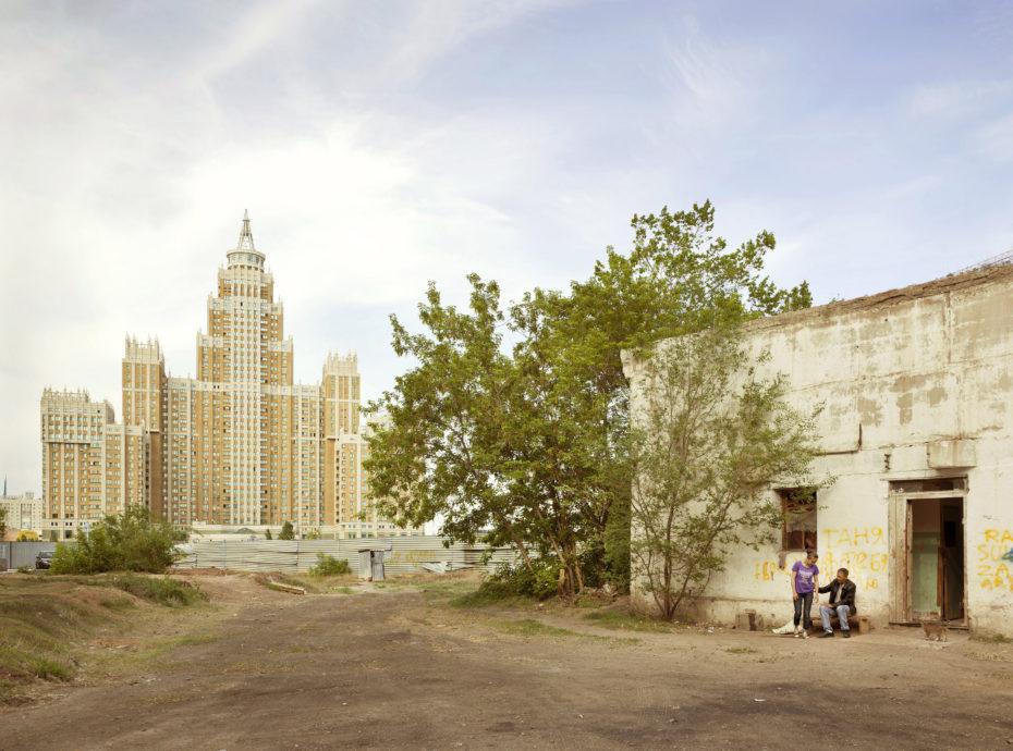 El Palacio del Triunfo en Astana, Kazajistán