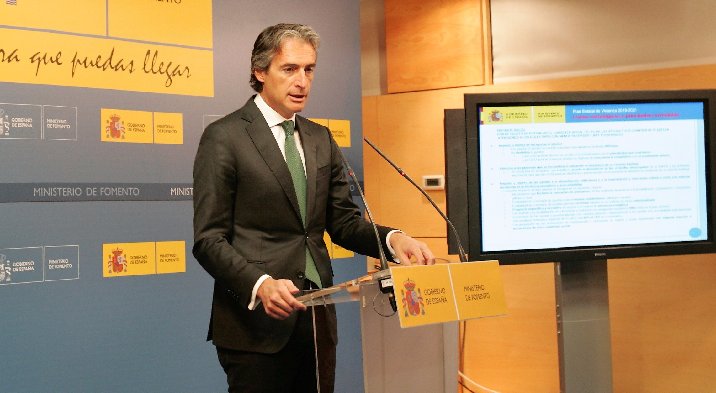 Íñigo de la Serna, ministro de Fomento  / Ministerio de Fomento