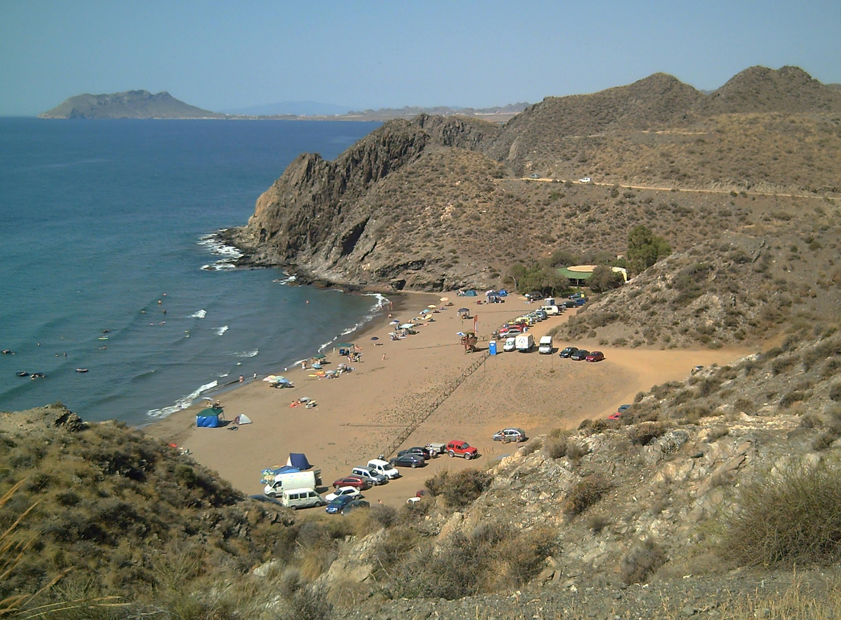 Playa Calnegre en Murcia