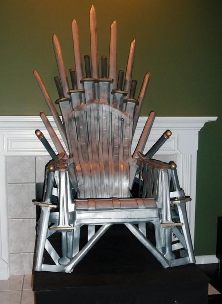 El asiento más famoso de 'Juego de Tronos'