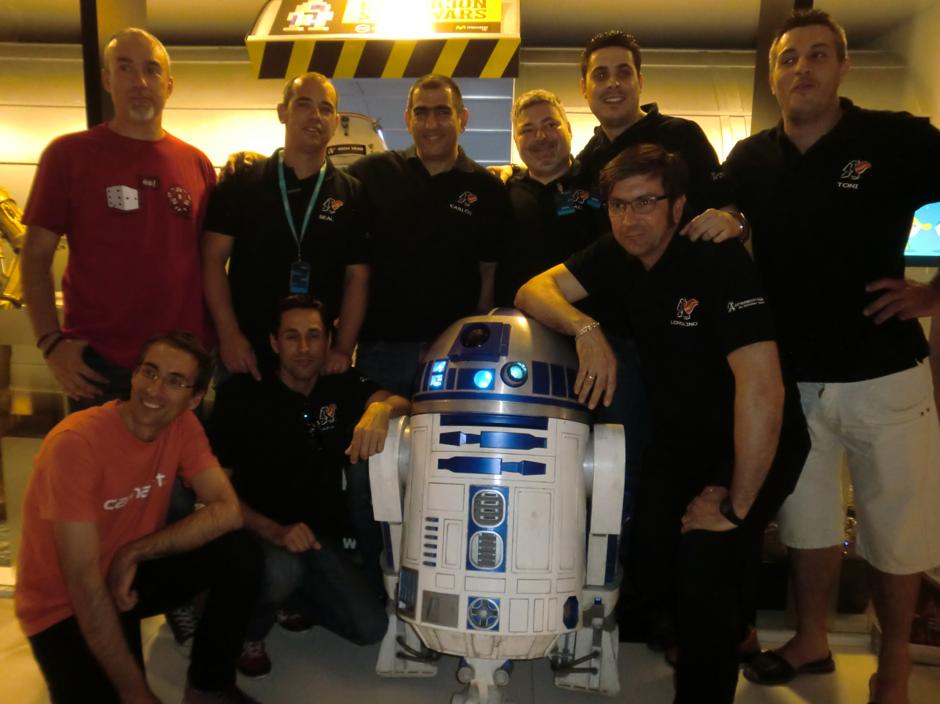 Un R2-D2 como el de 'La guerra de las galaxias'