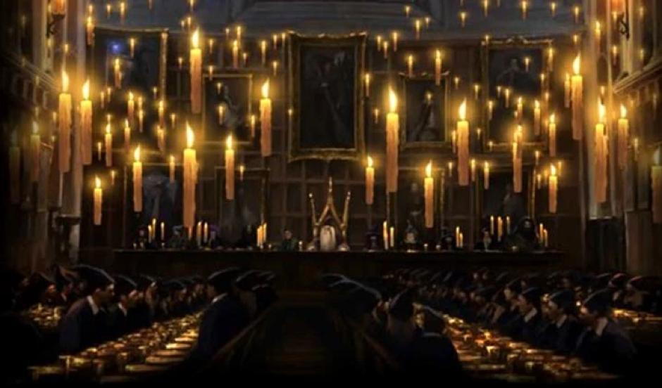 Las velas flotantes de 'Harry Potter'