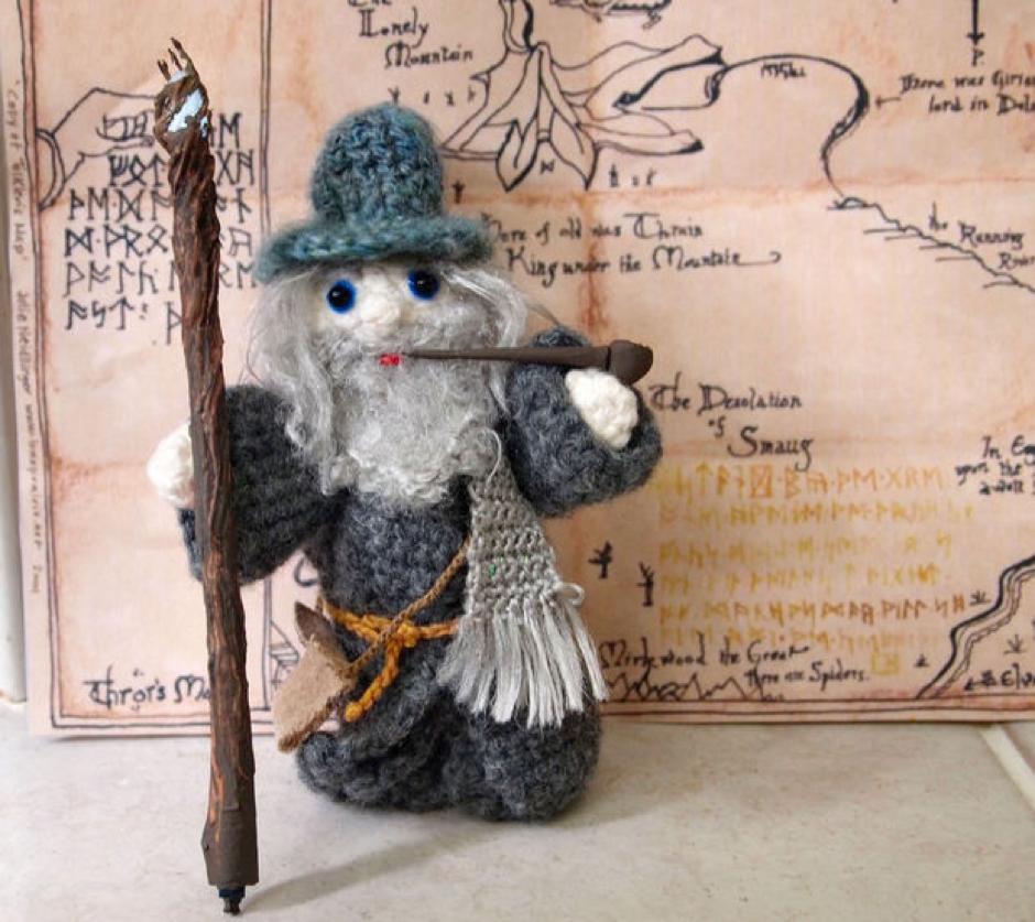 Un Gandalf de croché