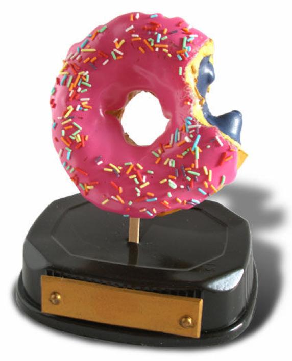 Un trofeo rosquilla que gustará a Homer