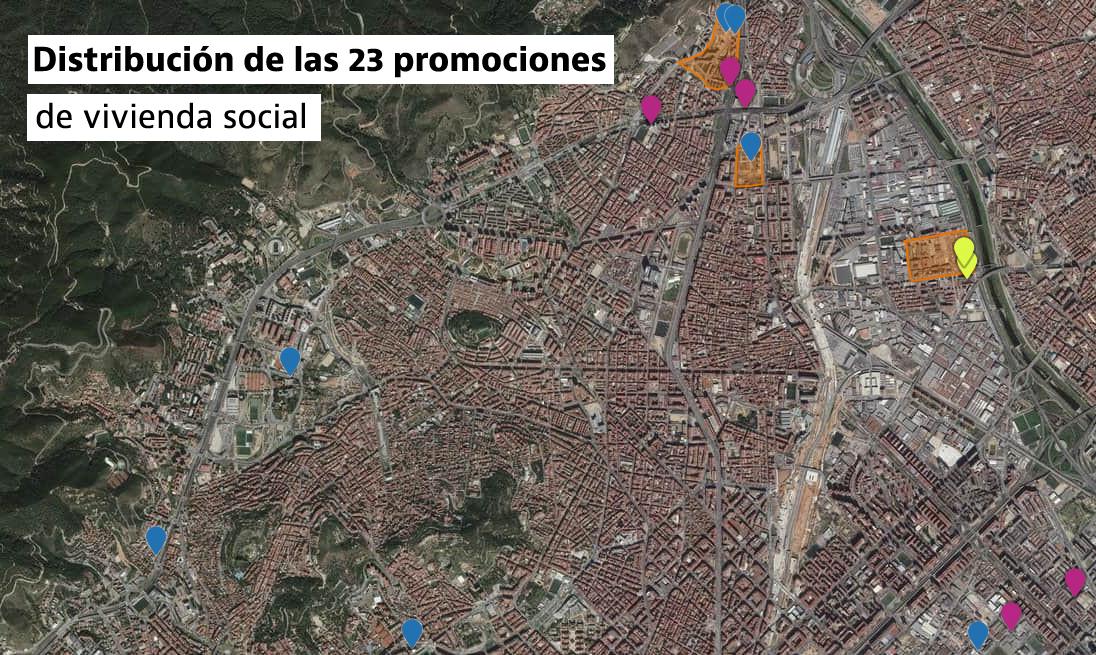 El BEI concede al Ayuntamiento de Barcelona 125 millones para financiar parte de su Plan de Vivienda