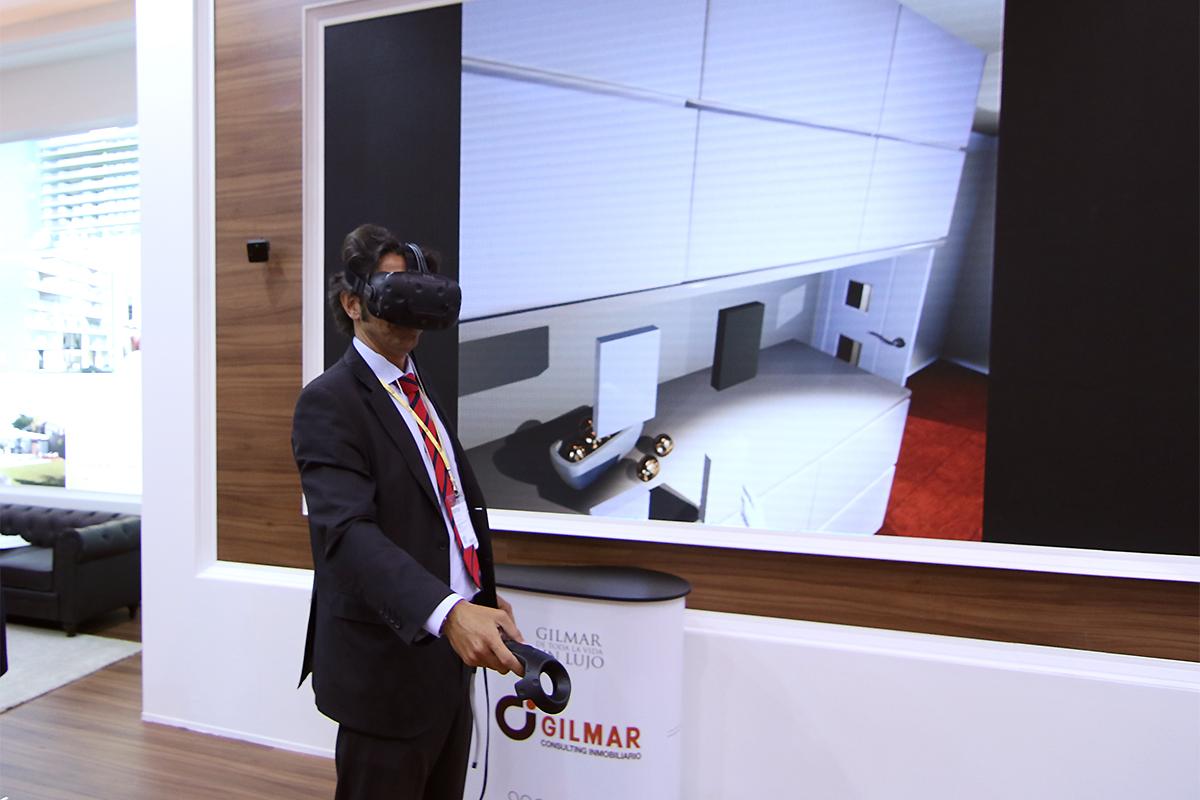 La realidad virtual ampliada en Gilmar