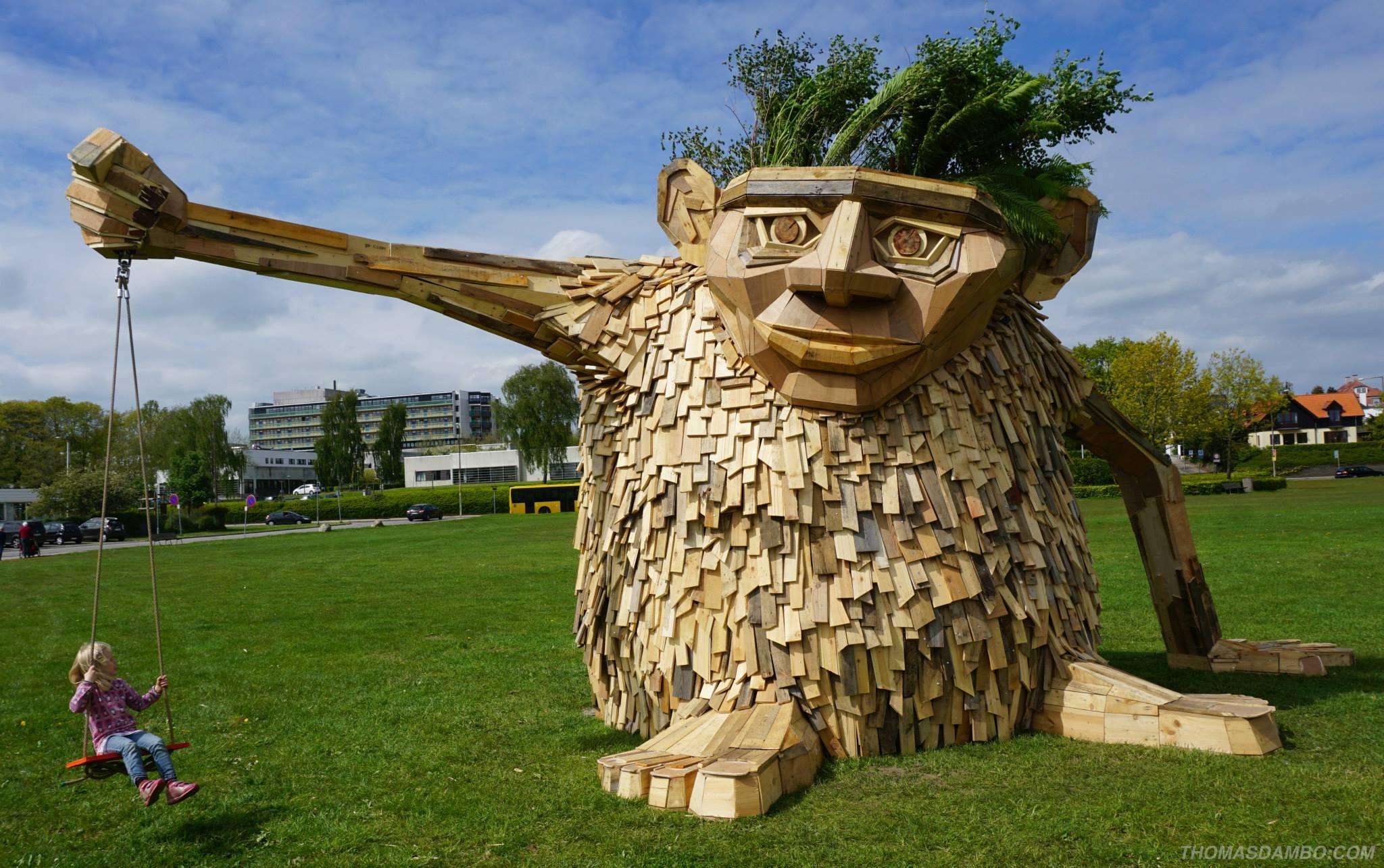 Troels the troll (Horsens, Dinamarca)