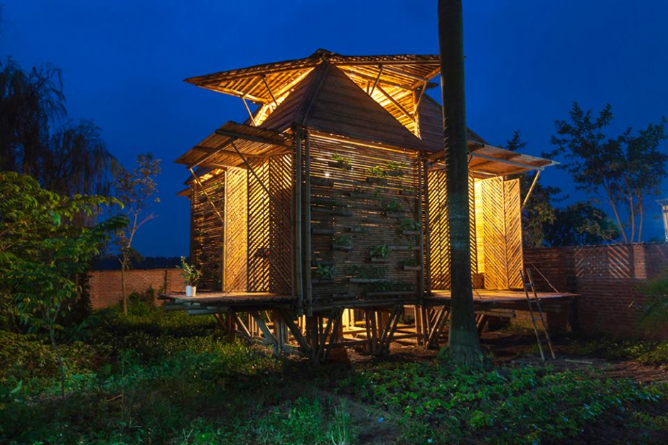 Una vivienda resistente a inundaciones
