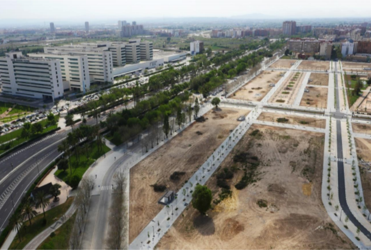 terreno en Valencia adquirido por la inmobiliaria. / Neinor Homes