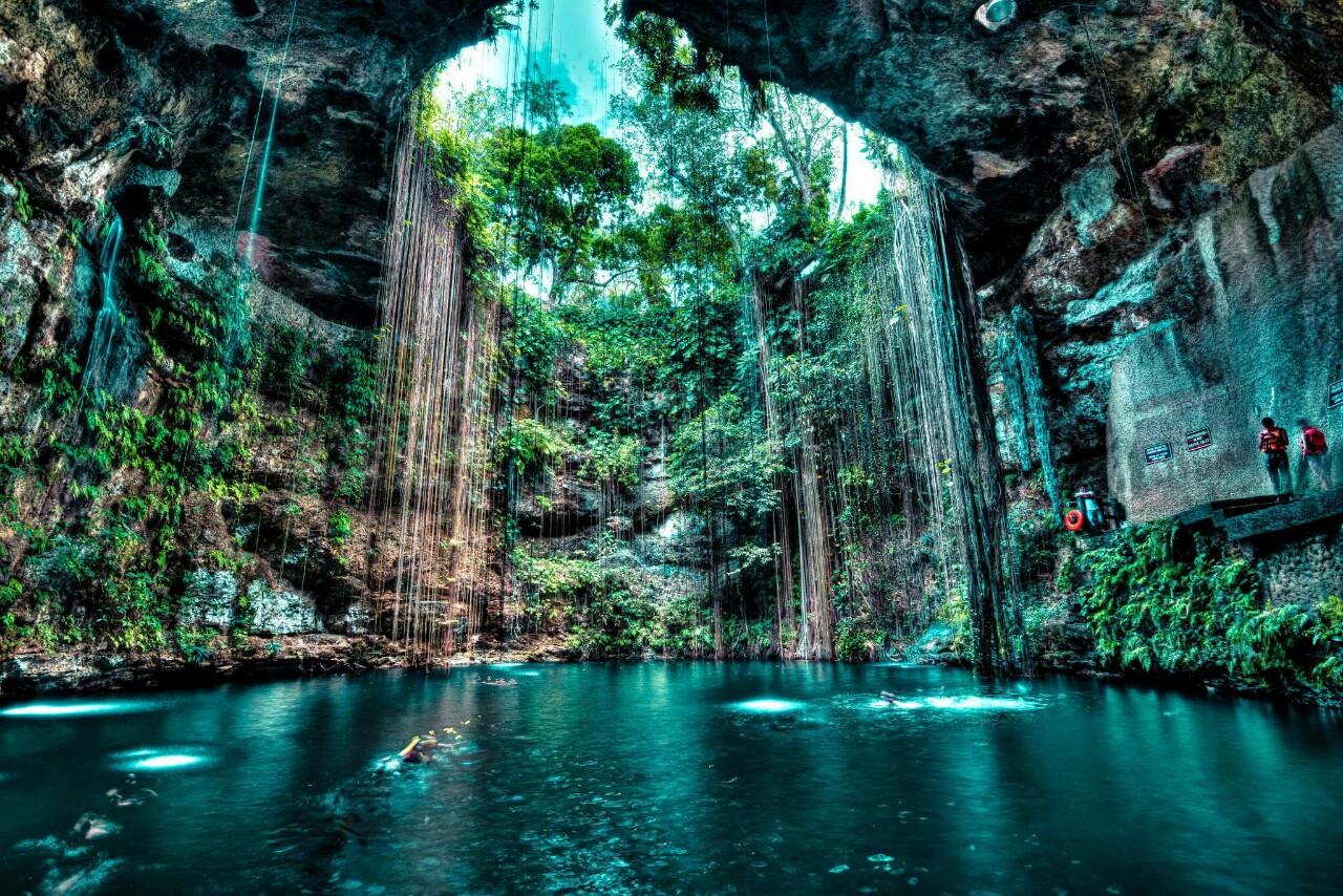 Cenote Ik Kil (Yucatán, México)