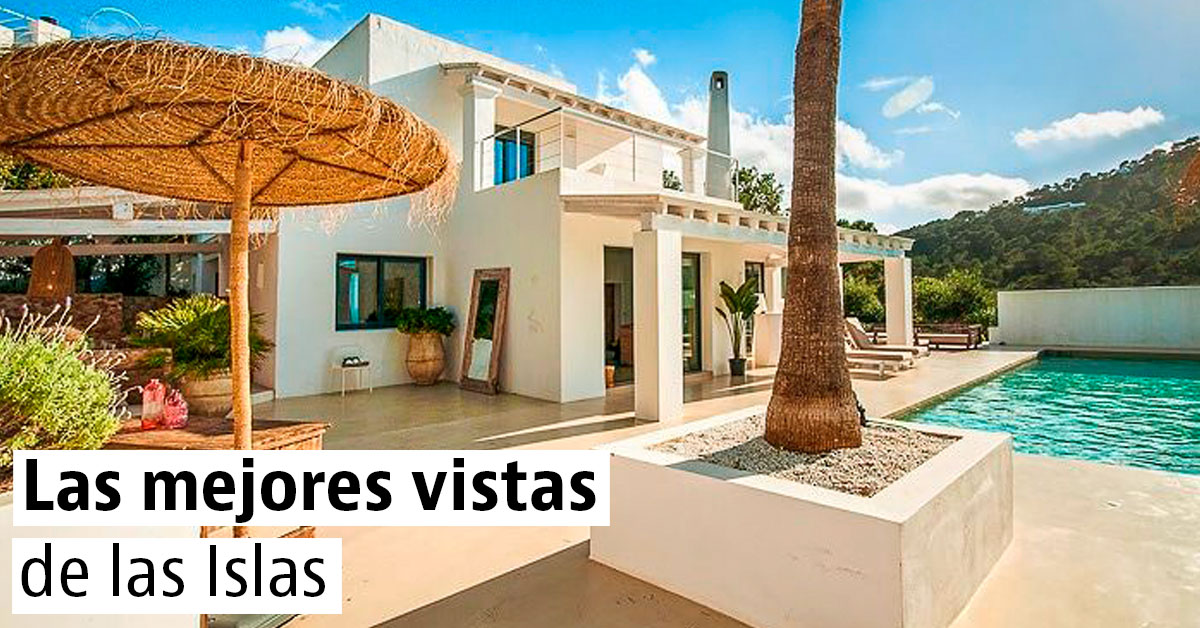 Chalets de lujo con vistas de las Islas Canarias y Baleares