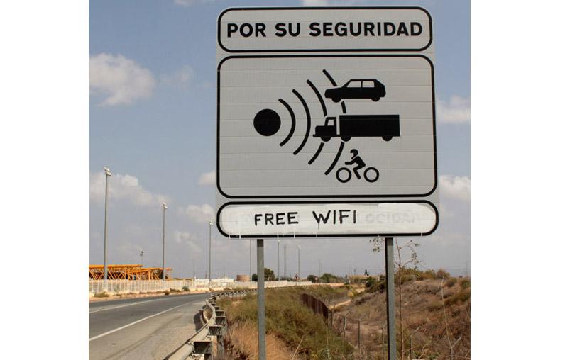 Free wifi, La Aljorra (Murcia)