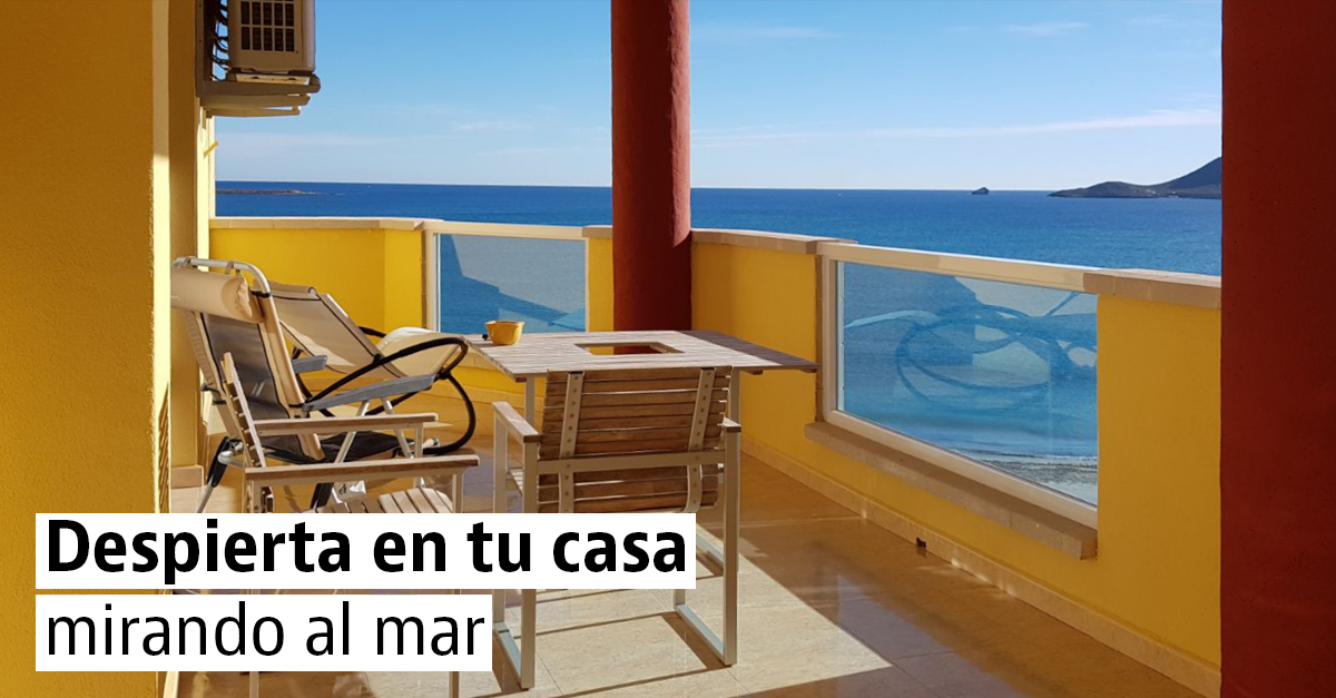 Inmuebles con vistas al mar