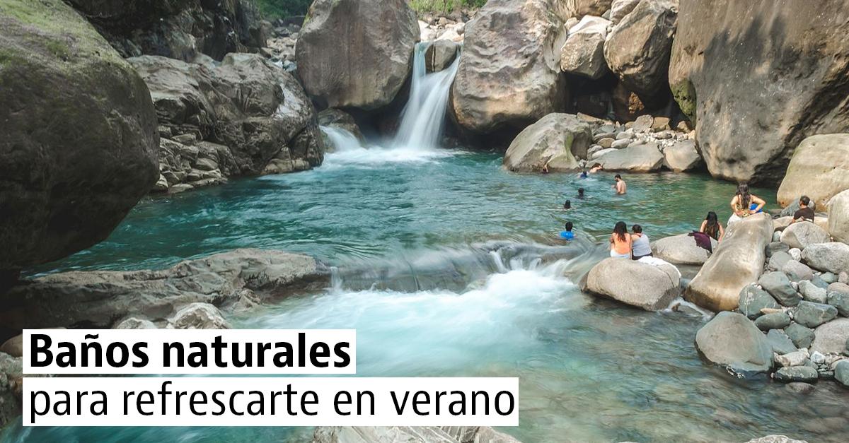9 piscinas naturales para disfrutar en verano