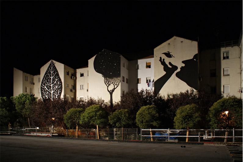 Tríptico de noche, Madrid