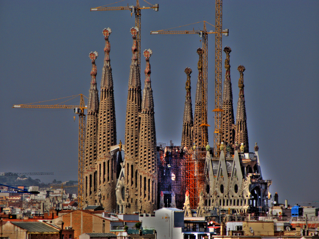 Obras Sagrada Familia / Flickr/Creative commons