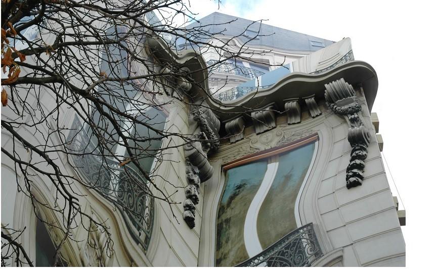 Una casa 'mal dibujada'