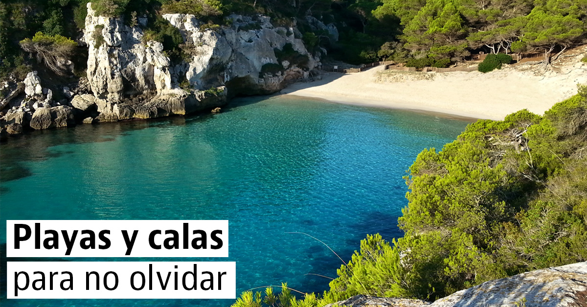 Playas y calas espectaculares